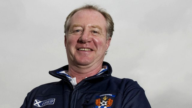 Kilmarnock assistant manager Jimmy Nicholl