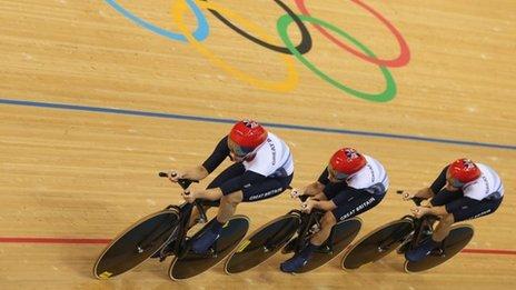 Great Britain's Women's Team Pursuit