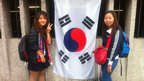 Fans of South Korea were hoping for victory against Team GB