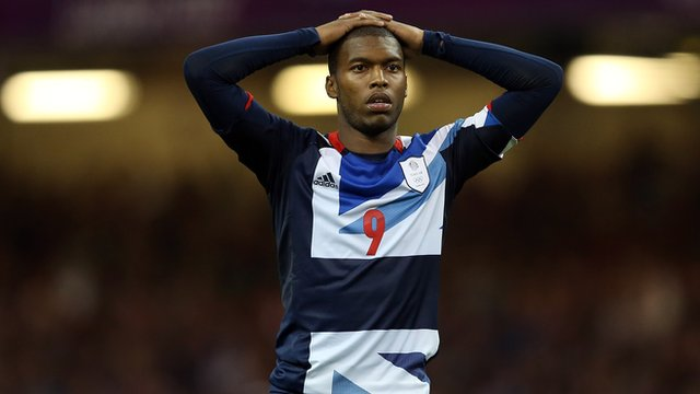 Daniel Sturridge reacts after GB beaten on penalties by South Korea