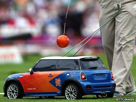 Mini at the Olympic Stadium