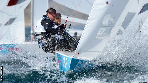 Star sailors - Ian Percy and Andrew Simpson