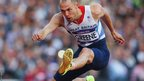 Great Britain's David Greene makes his way to the final