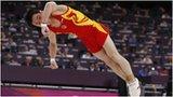 Men's Floor gold medallist China's Kai Zou