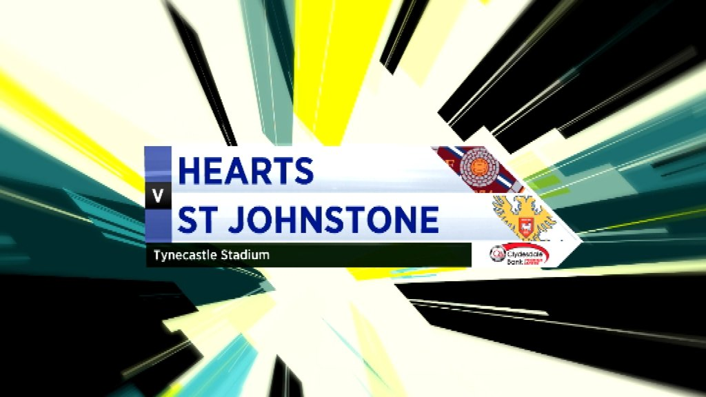 Highlights - Hearts 2-0 St Johnstone