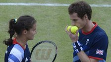 Laura Robson & Andy Murray