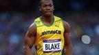 Jamaica's Yohan Blake