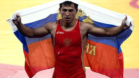 Roman Vlasov of Russia