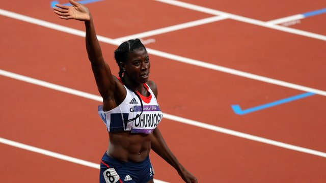 Great Britain&#039;s Christine Ohuruogu