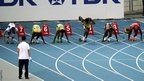 Usain Bolt is too early out of the blocks