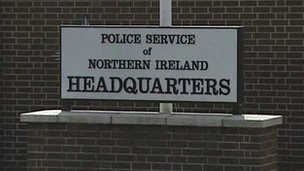 PSNI HQ sign