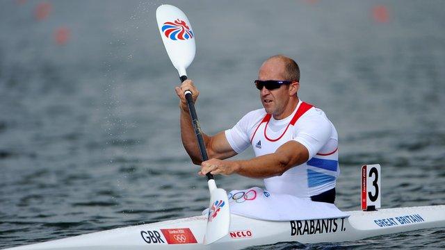 Great Britain's Tim Brabants