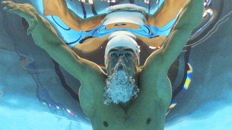 Fabio Scozzoli swimming