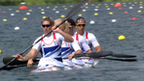 Great Britain's K4 team