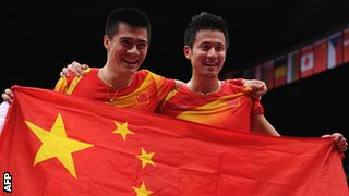 Yun Cai and Haifeng Fu of China