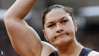 New Zealand shot putter Valerie Adams