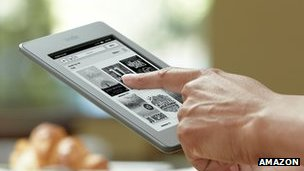 Amazon Kindle Touch Read-an-ebook.com