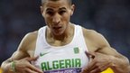 Algerian thrown out of Olympics