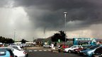 Funnel cloud at Durkar