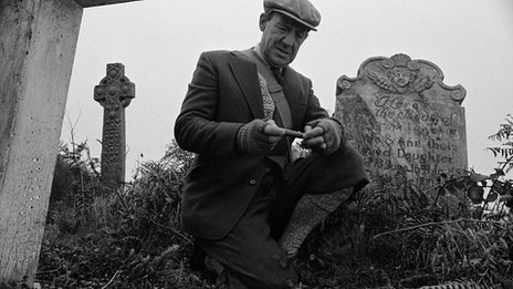 Michael Hordern in the 1968 BBC version of Whistle and I'll Come To You