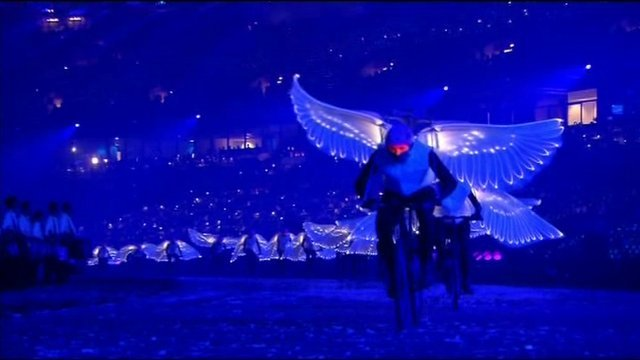 Doves at Opening Ceremony