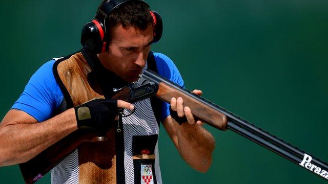 Croatian Giovanni Cernogoraz wins gold