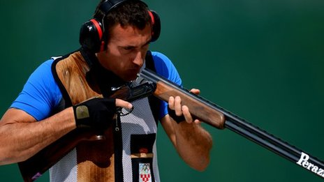 Croatian Giovanni Cernogoraz wins gold