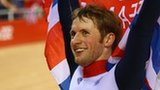 Jason Kenny wins gold in the men's individual sprint at London 2012