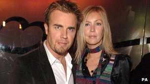 Gary Barlow and wife Dawn in 2005
