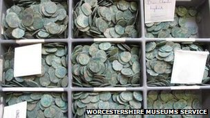 Bredon Hill Roman coins