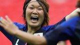 Japan's women celebrate