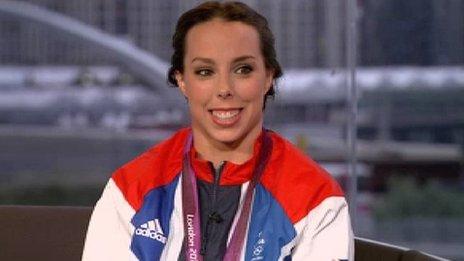 Great Britain's Beth Tweddle