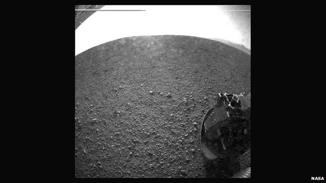 Martian soil