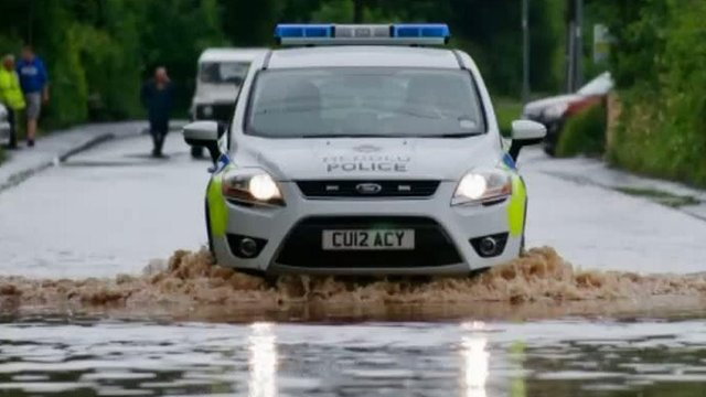 Flooding affected several areas of Wales