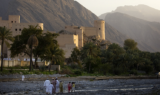 Castle in Nakhal, Oman