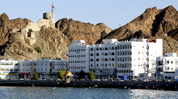 Muscat seafront