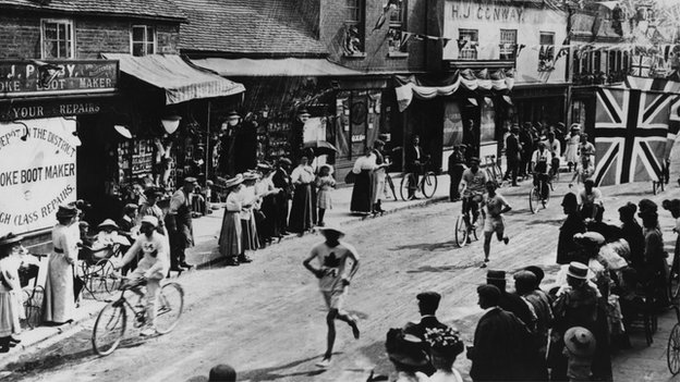 Olympic marathon 1908