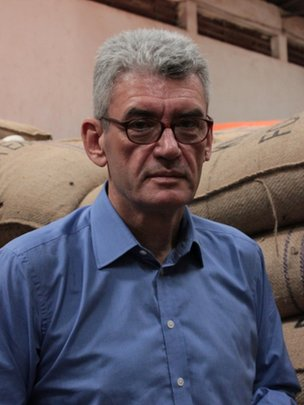 Kyagalanyi Coffee's managing director David Barry