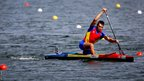 Iosif Chirila of Romania qualifies for the semi-finals