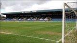 Spotland, home of Rochdale FC