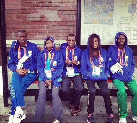 Team Rwanda members