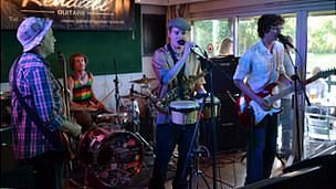RentOClean at Guernsey Gigs Battle of the Bands