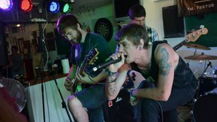 Iron Cobra at Guernsey Gigs Battle of the Bands
