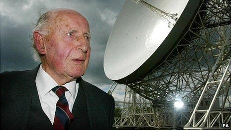 Sir Bernard Lovell and the Lovell Telescope
