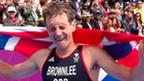 Alistair Brownlee wins triathlon gold