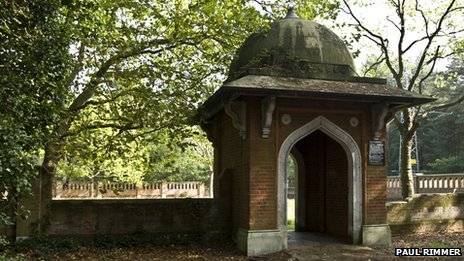 Muslim burial ground at Horsell Common