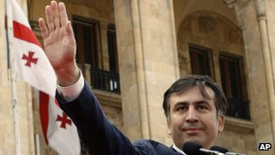 President Saakashvili. File photo