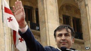 President Saakashvili. File photo