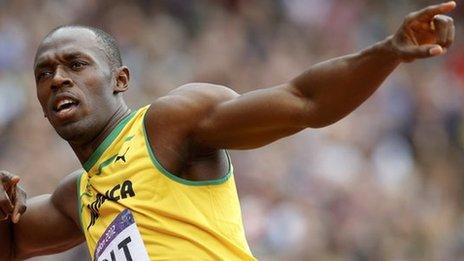 BBC Sport - London 2012 Olympics - Usain Bolt : Jamaica ...