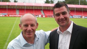 Steve Coppell and Richie Barker